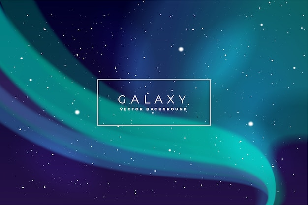 Kosmiczny galaktyki tło wektor