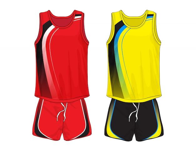 Koszulka do biegania, sport bez rękawów.