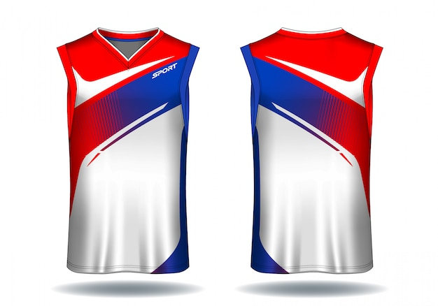 Koszulka do koszykówki, ilustracja sport tank top.