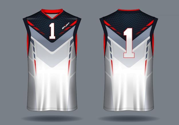 Koszulka do koszykówki tank top sport illustration.