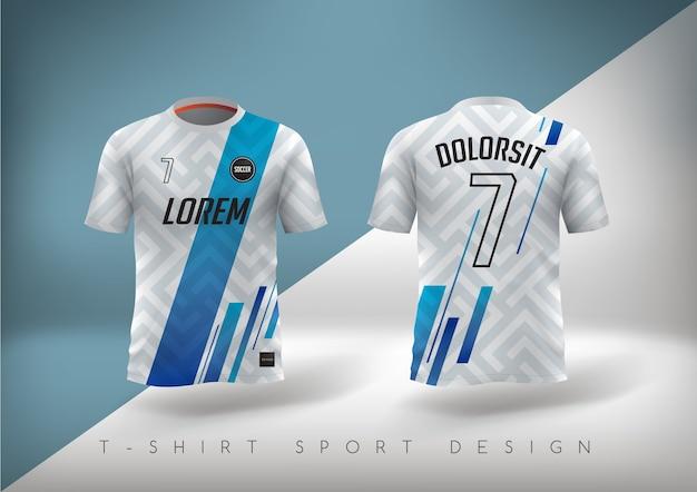 Koszulka piłkarska o dopasowanym kroju z okrągłym dekoltem.
