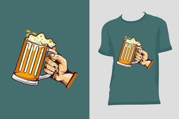 Koszulka piwna premium