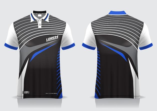 Koszulka polo na jednolity szablon