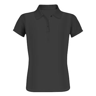 Koszulka polo z krótkim rękawem. z przodu.