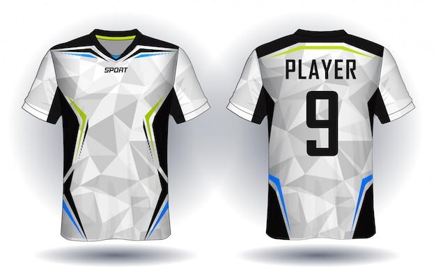 Koszulka sportowa z jerseyu piłkarskiego