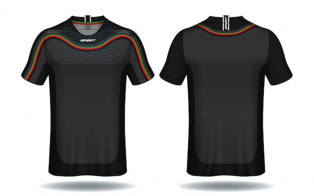 Koszulka sportowa z koszulką piłkarską.