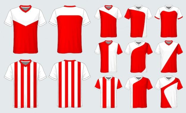 Koszulka sportowa z koszulką piłkarską