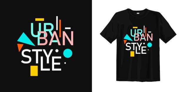 Koszulka w stylu miejskim