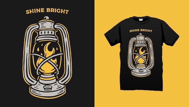 Koszulka z lampą burzową