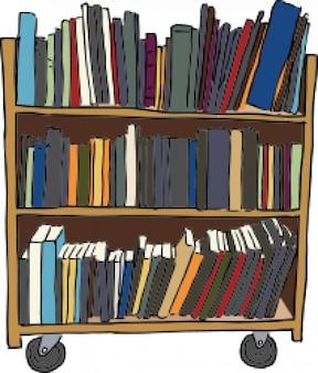 Koszyka książka biblioteki