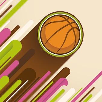 Koszykówka tło