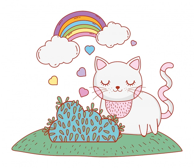 Kot kreskówka kot