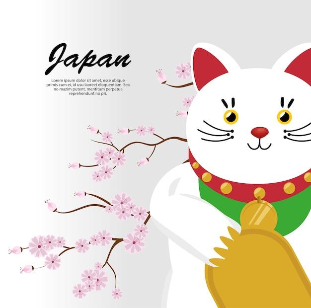 Kot kultury japońskiej ma szczęście
