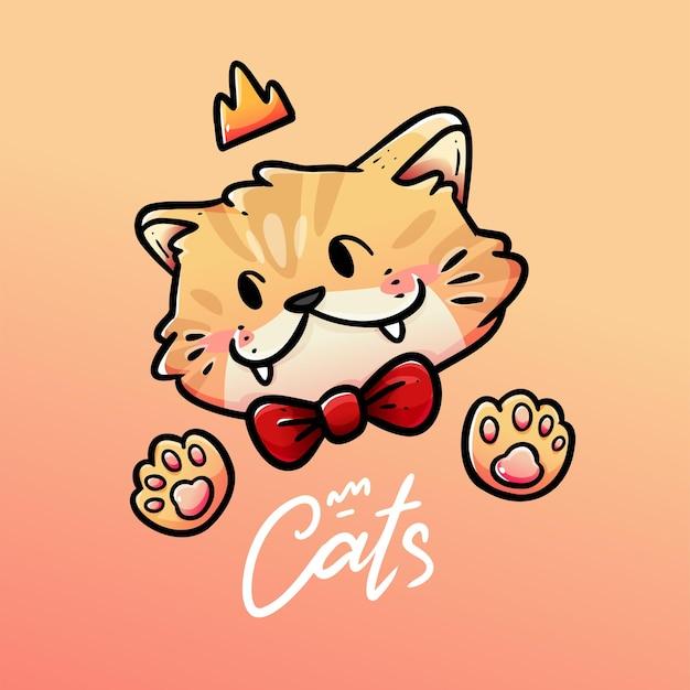 Kot z koroną