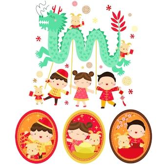 Koza rok chiński nowy rok
