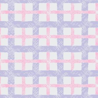 Kraciaste tartan z teksturą. bezszwowy wzór.