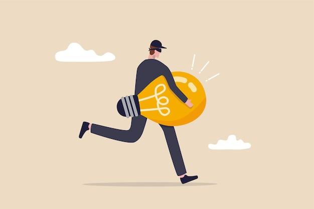 Kradzież idei lub plagiat, piractwo na własności intelektualnej.