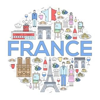 Kraj francja przewodnik po towarach