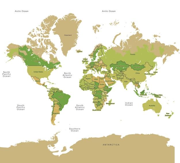 Kraje zielone kraje świata