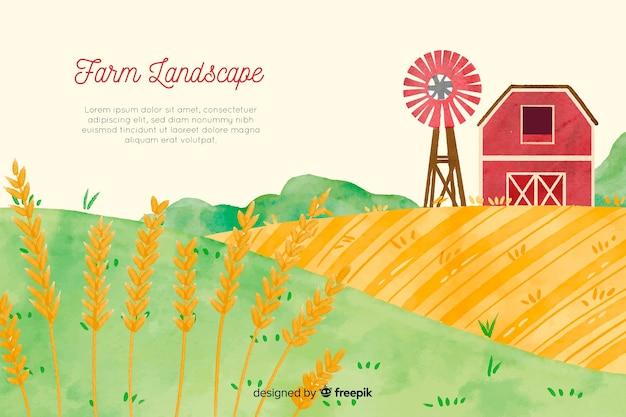 Krajobraz gospodarstwa