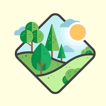 Krajobraz przyrody