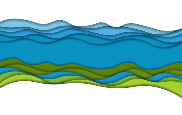 Krajobraz sztuki papierowej
