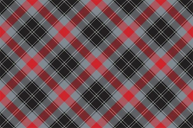 Kratę wzór bez szwu. sprawdź teksturę tkaniny. paski kwadratowe tło. projekt tkaniny w kratę