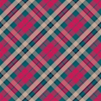 Kratę wzór bez szwu. sprawdź teksturę tkaniny. paski kwadratowe tło. tartan tekstylny.