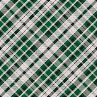 Kratę wzór bez szwu. sprawdź teksturę tkaniny. paski kwadratowe tło. wektor wzór kratę tekstylną