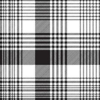 Kratkę w kratę czarny biały wzór