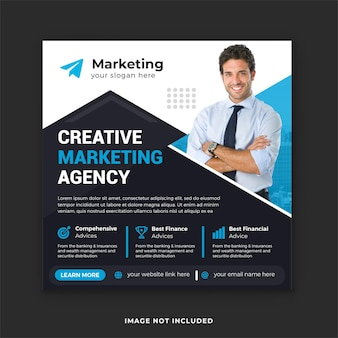 Kreatywna agencja marketingowa digital marketing post na instagramie i post w mediach społecznościowych