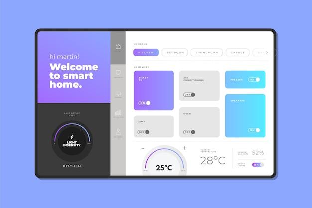 Kreatywna aplikacja do zarządzania inteligentnym domem