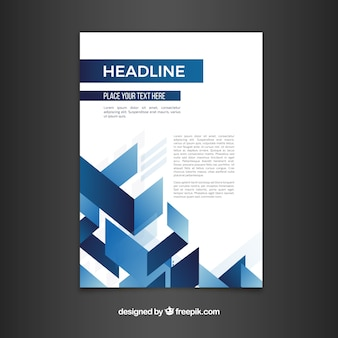 Kreatywna i elegancka broszura biznesowa