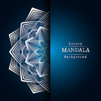Kreatywna luksusowa mandala