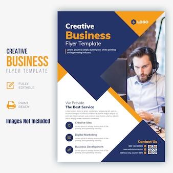 Kreatywna ulotka biznesowa