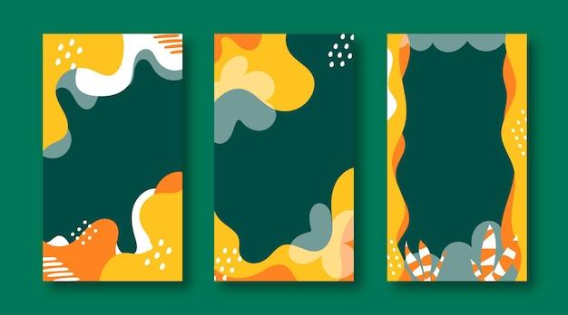 Kreatywne abstrakcyjne tło projektu okładki