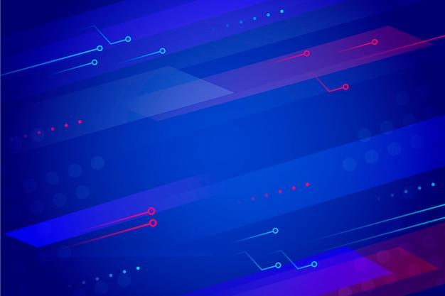 Kreatywne gradientowe futurystyczne tło