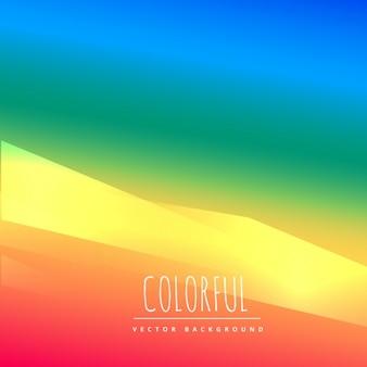 Kreatywne kolorowe tło