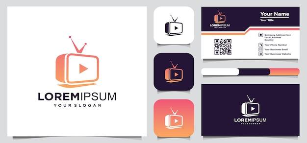 Kreatywne logo telewizyjne