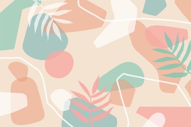 Kreatywne organiczne kształty tła