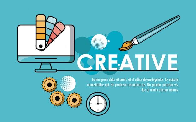 Kreatywne pomysły i kolory