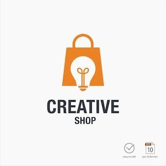 Kreatywne projektowanie logo sklepu
