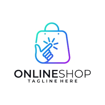 Kreatywne projektowanie logo zakupów online