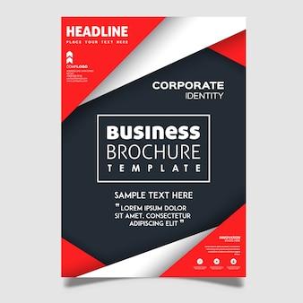 Kreatywne projekty broszur wektorowych