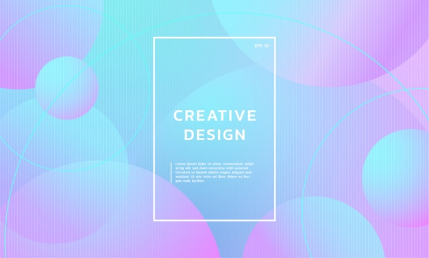 Kreatywnie abstrakcjonistyczny geometryczny modny gradientowy tło
