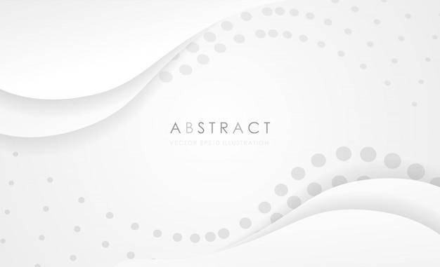 Kreatywnie minimalny geometryczny kształt z białym tłem.