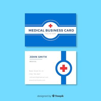 Kreatywnie wizytówka z medycznym pojęciem