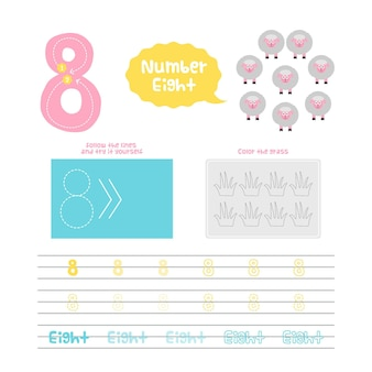 Kreatywny arkusz numer osiem