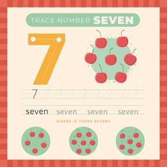 Kreatywny arkusz numer siedem