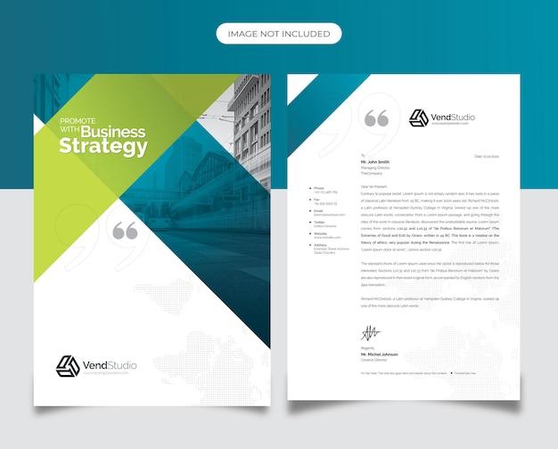 Kreatywny czysty papier firmowy